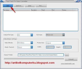 konversi file flv ke 3GP