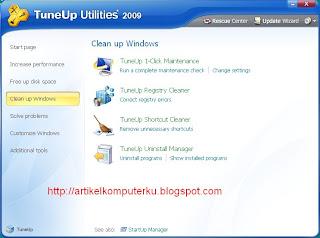 Tune Up Utilities 2009