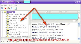 chatting di yahoo messenger