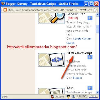 widget lagu untuk blog
