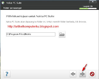 cara instal nokia pc suite
