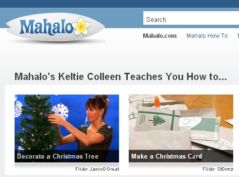 Mahalo search engine