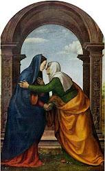 31 de mayo: LA VISITACIÓN DE LA VIRGEN MARÍA. Fiesta