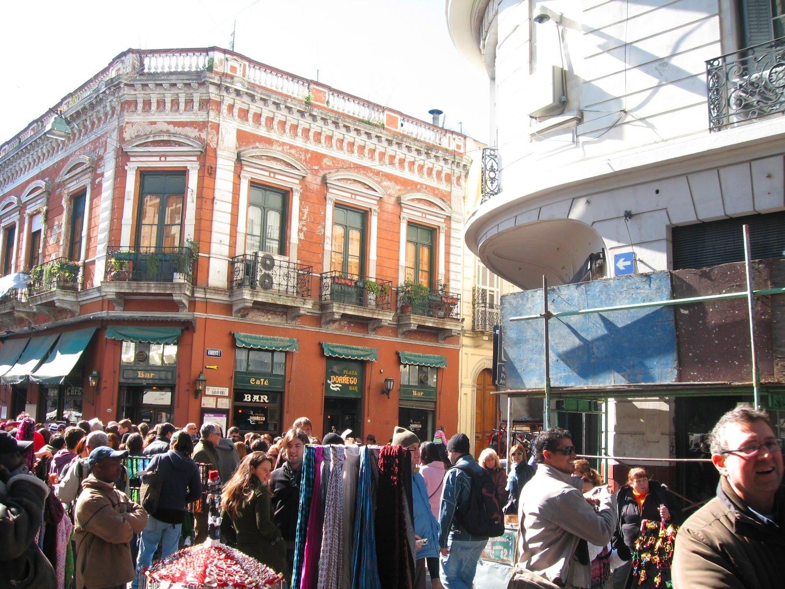 Mis Absurdos Infinitos Feria En San Telmo Buenos Aires
