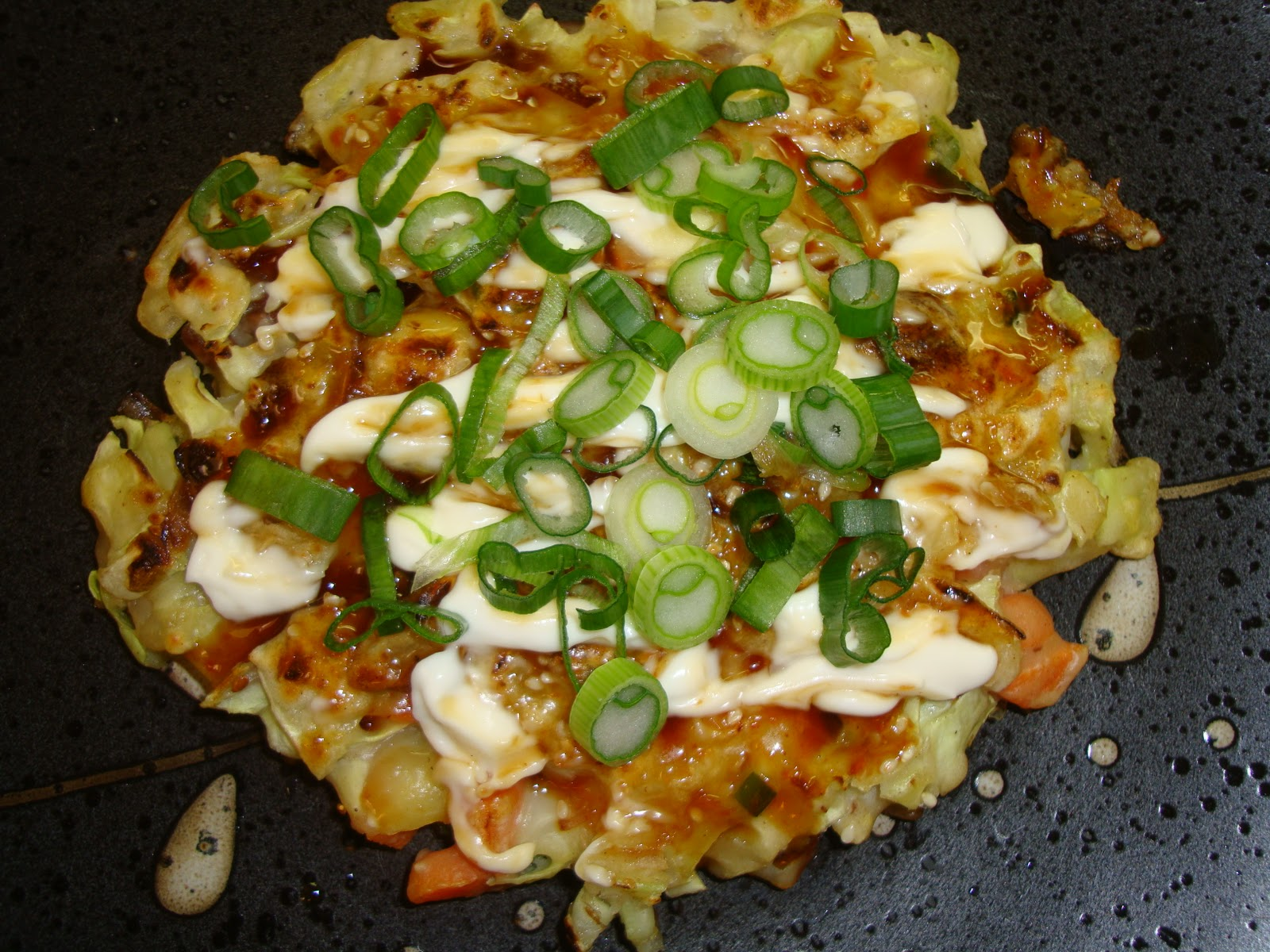 World of Jackie Designs: How to make Okonomiyaki