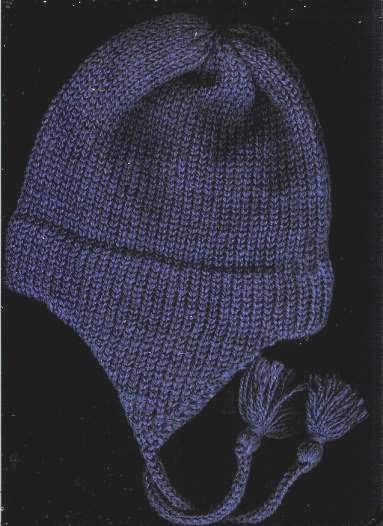 Easy Knitting Pattern Hat With Ear Flaps : Marzipanknits: Free Pattern for childs earflap hat on the midgauge