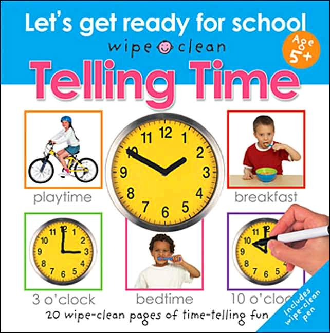 How to Be the Best Nanny : Books to Help Teach Kids to Tell Time