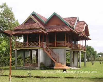 jual rumah villa murah