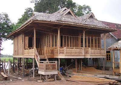 rumah kayu bongkar pasang - contoh gambar rumah