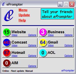 ePrompter screenshot
