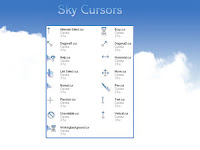 Sky cursors by Lucifer017 Koleksi cursor cantik