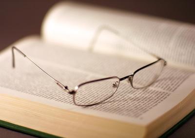 livro óculos