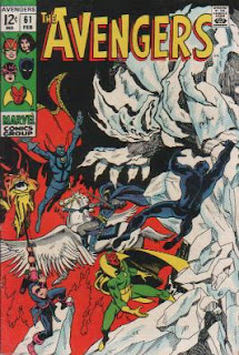 THE AVENGERS #61 - Feb. 1969