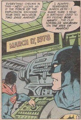 Et tu, Batman?