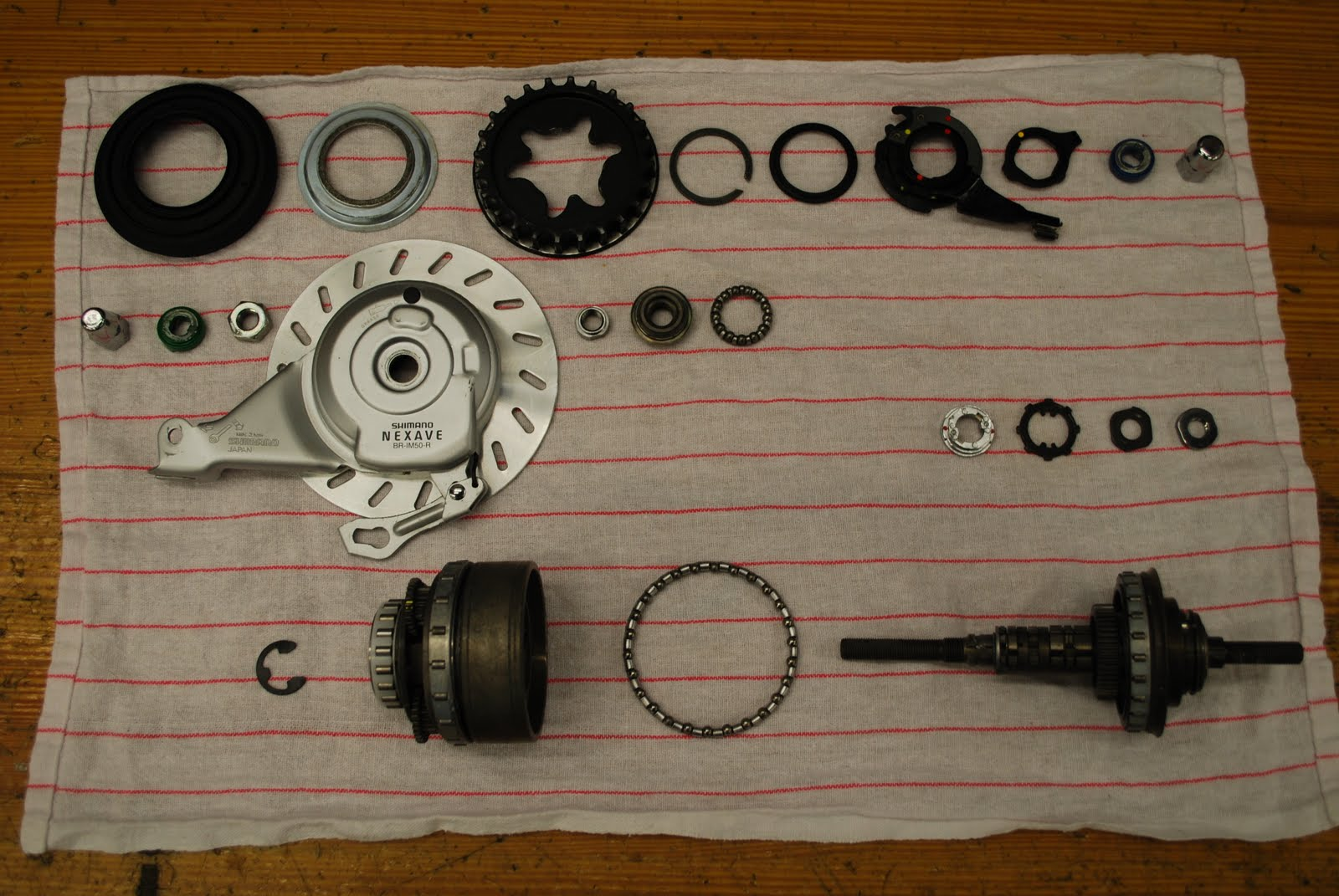 How To Freewheel Bike Shop Minneapolis Twin Cities St Paul Exploded Diagram Of Drum Brake Here Is An View After The Parts Are All Cleaned