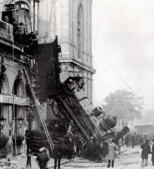 Montparnasse Train Wreck 1895