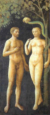 The Temptation of Adam and Eve, Masolino, Brancacci Chapel, 1425