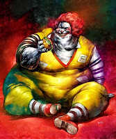 Ronald McDonald, Gluttony