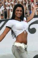 Dani Sperle, Rainha da Força Jovem, RFJ, Vasco