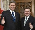 Jim Flaherty, Minister of Finance, Stephen Harper