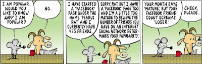 Stephan Pastis, Pearls Before Swine, Facebook