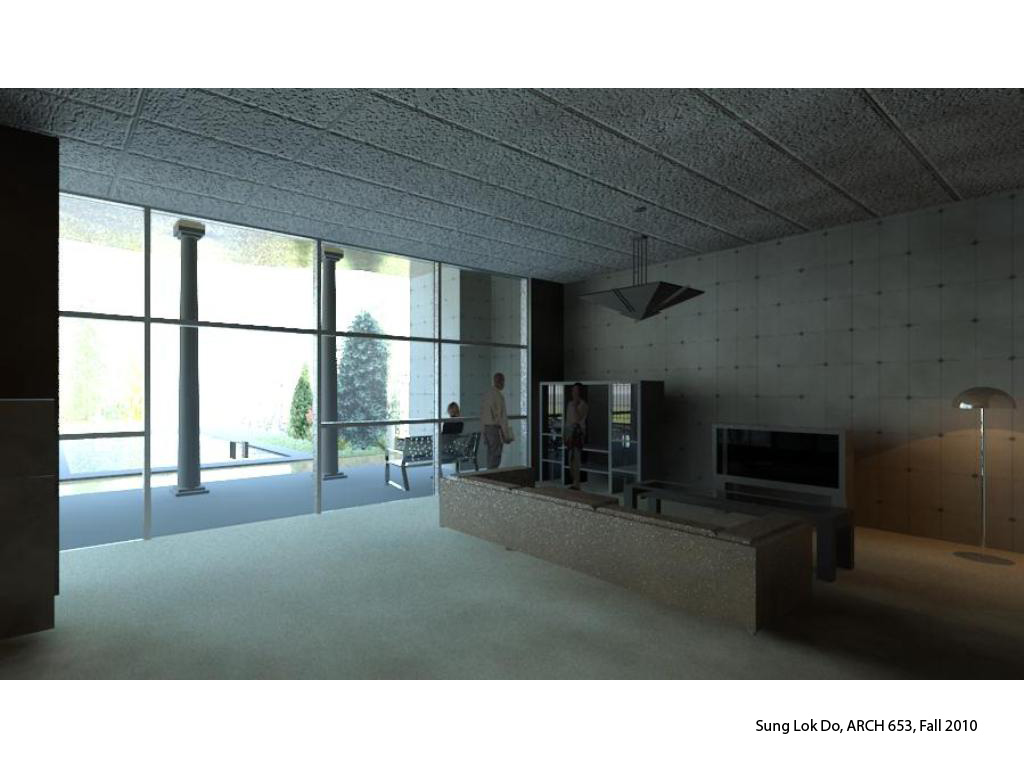 Sunglok youngha interior view of the revit rendering - Revit exterior rendering settings ...