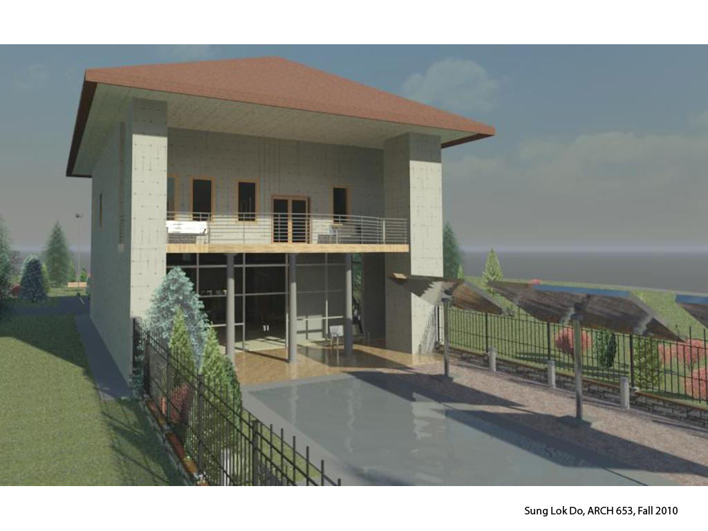 Sunglok youngha exterior view of revit rendering - Revit exterior rendering settings ...