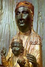 La mare de Déu de Montserrat