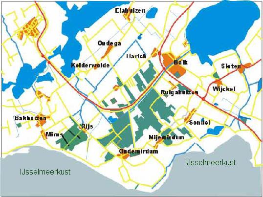 Map Gaasterland