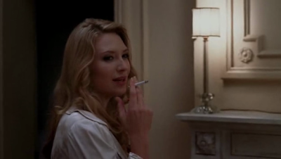 Anna Torv Smoking