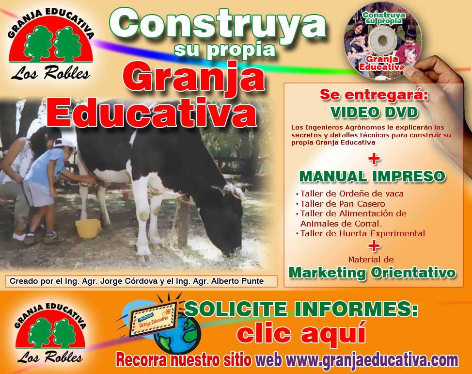 Solicita el DVD de Como armar una Granja Educativa Exitosa!!