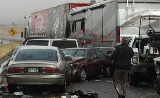 Furniture Row Racing Hauler Involved In Accident En Route To Auto Club Speedway Diecast Crazy
