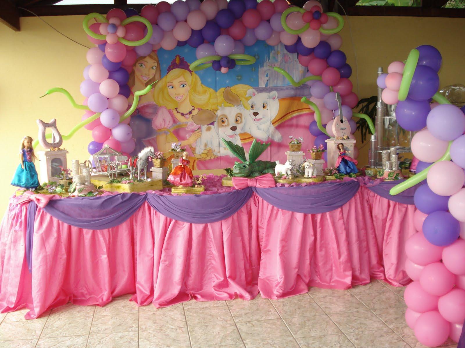 decoracao festa barbie:Regina Festas e Decoração: Festa Barbie Castelo de Diamante