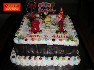 Birthday Cake For Erfan & Adelia