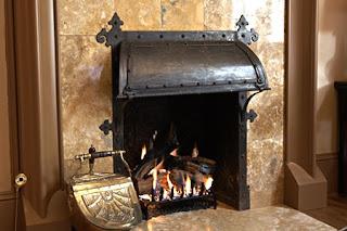 Urban Ironcraft Iron Fireplace Hood