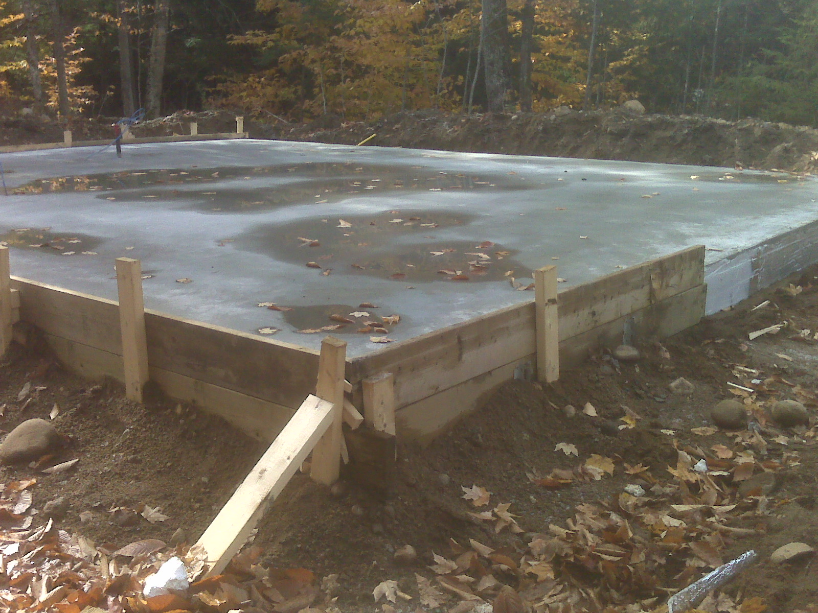 My Second Estate: Monolithic slab foundation
