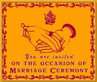 Wedding cards are an important feature of Indian weddings