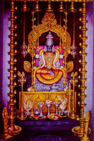 Ashtadasabhuja Durga Darshana - 10. Sree Lalithambigai Temple -Thirumeeyachur
