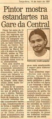 Raimundo Rodriguez - O Globo Tijuca