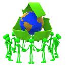 Vamos salvar o meio ambiente.