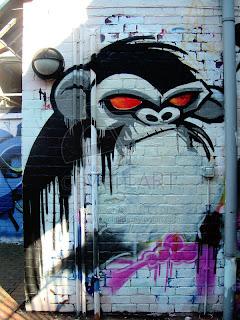 Black Monkey Graffiti