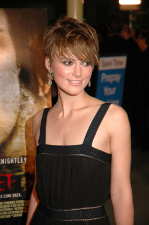 Celebrity: keira knightley domino hair