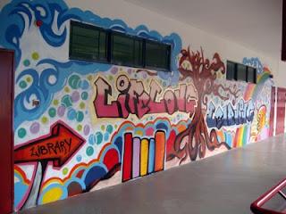 Full Color Street Graffiti Art