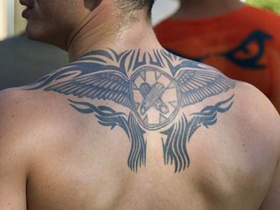 Holy cross tattoos are the symbols of religious faith and one's true bonding