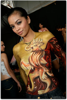 Women Body Painting Tips