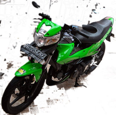 New Look Of My Kawasaki Athlete 125 Ranz Bebek New Look Of My Kawasaki Athlete 125 Ranz Bebek