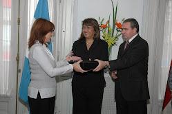 Acto en la Embajada de Panama