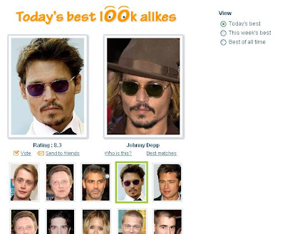 Celebrity Look Alike Finder