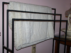 Wrought Iron Quilt Rack--Custom Made