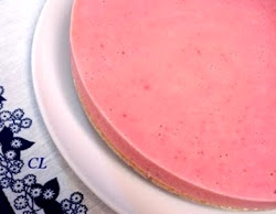Cheesecake Congelado de Morango